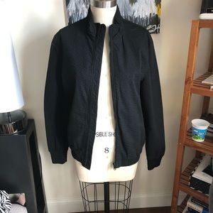 ZARA Man Black Bomber Jacket